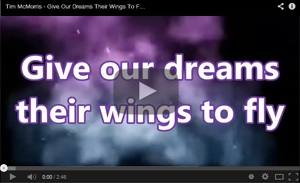 Give our Dreams their Wings to Fly